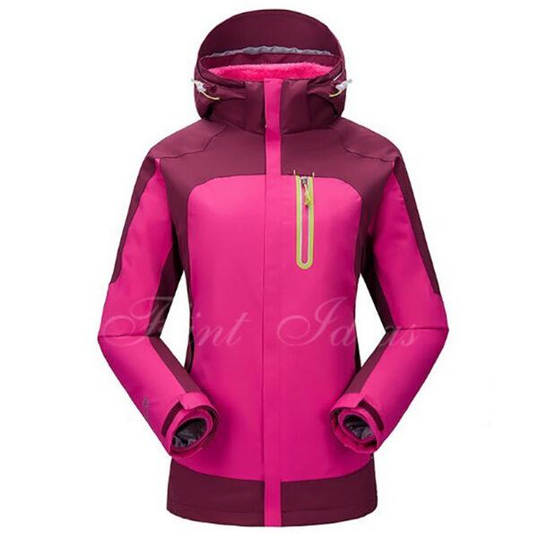 抓絨保暖二合一登山滑雪外套 -08