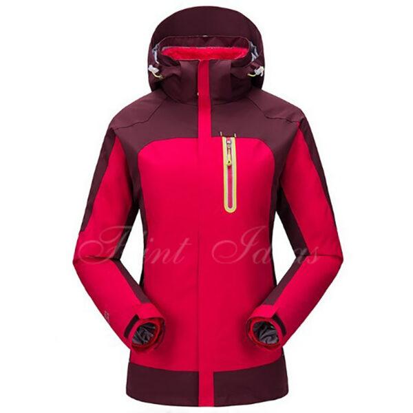 抓絨保暖二合一登山滑雪外套 -07
