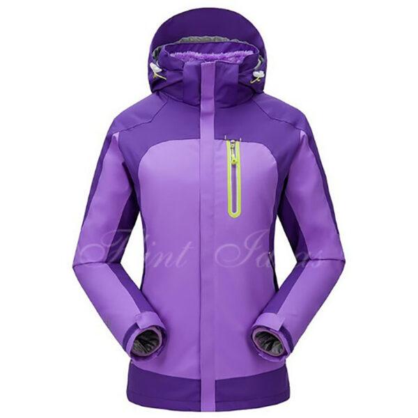 抓絨保暖二合一登山滑雪外套 -06