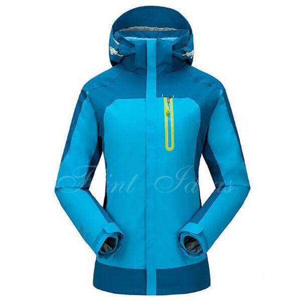 抓絨保暖二合一登山滑雪外套 -05