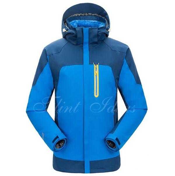 抓絨保暖二合一登山滑雪外套 -04