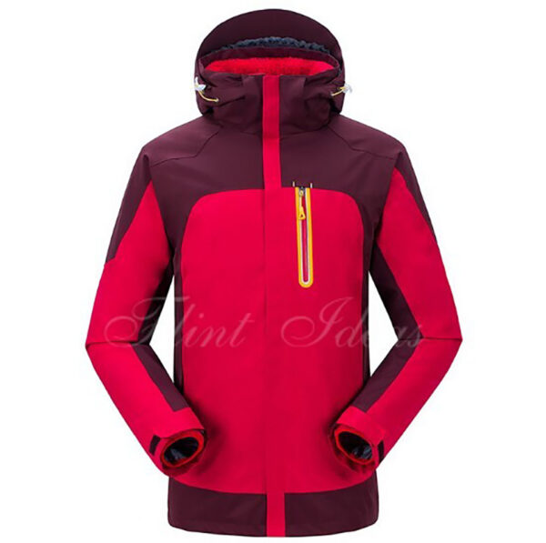 抓絨保暖二合一登山滑雪外套 -03