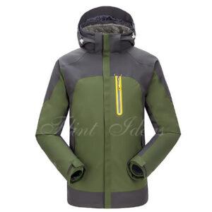 抓絨保暖二合一登山滑雪外套 -02