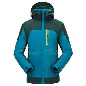 抓絨保暖二合一登山滑雪外套 -01