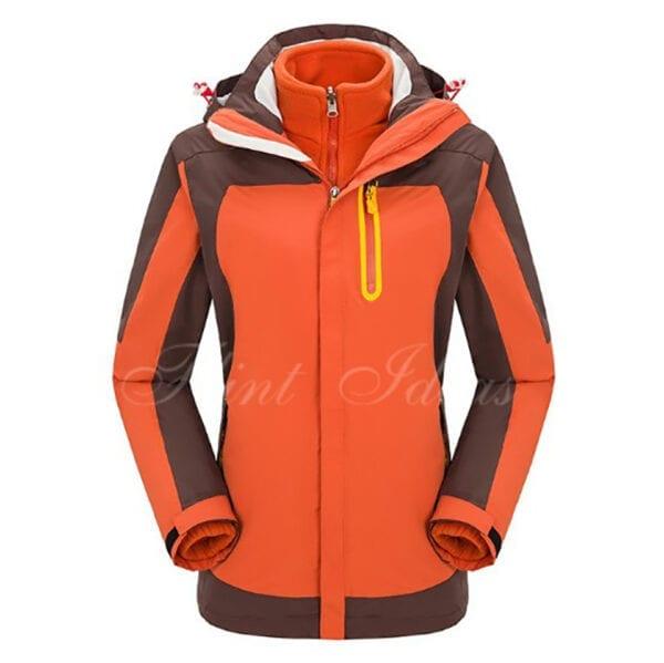 二合一防風防水登山滑雪外套 -16