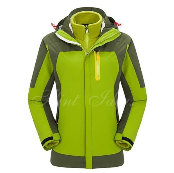 二合一防風防水登山滑雪外套 -11