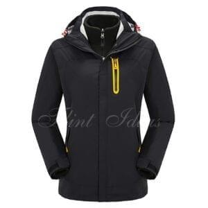 二合一防風防水登山滑雪外套 -09