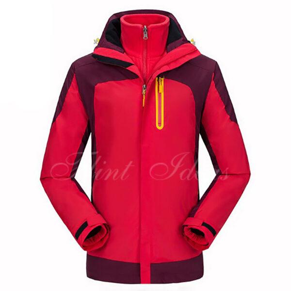 二合一防風防水登山滑雪外套 -04