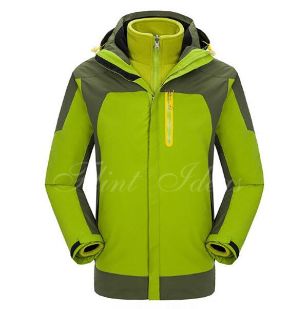 二合一防風防水登山滑雪外套 -03