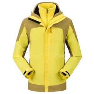 二合一防風防水登山滑雪外套 -02
