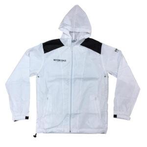 黑白撞色薄款防風風褸外套 -01