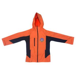 兒童四面彈防風保暖風褸外套 -01