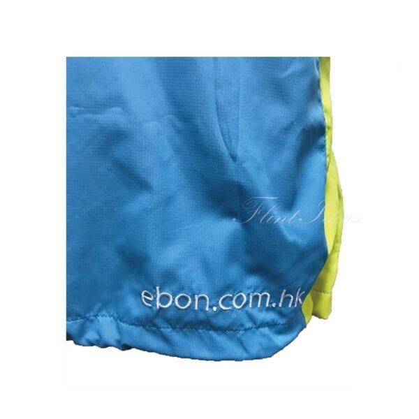 風褸, 風褸訂造 - 藍綠撞色牛角袖風褸-06